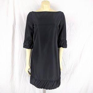 Zara Basic Little Black Dress 3/4 Sleeve